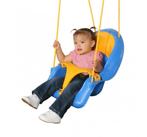נדנדה לתינוק כחול צהוב (1)