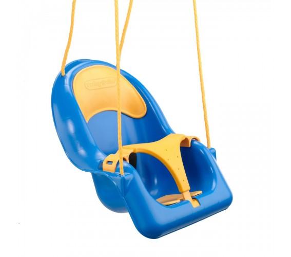 נדנדה לתינוק כחול צהוב (2)