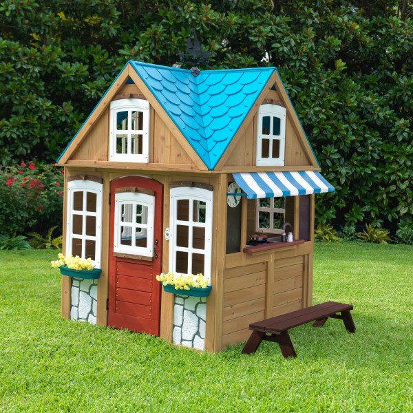 בית עץ לילדים- נוף לים