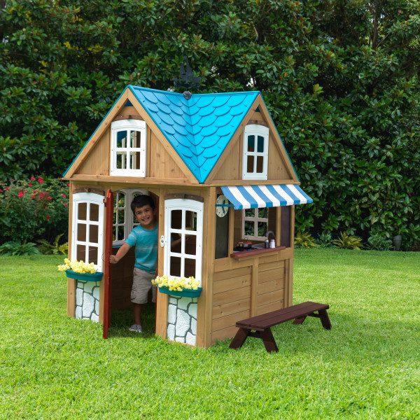 בית עץ לילדים נוף לים