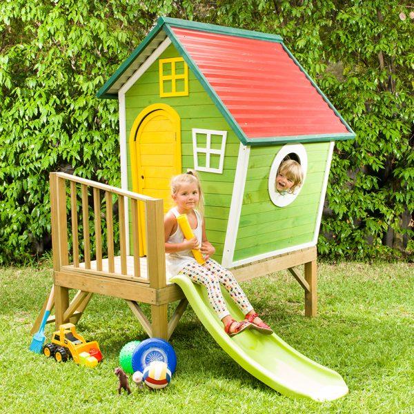 בית עץ לילדים - הבית של פיסטוק